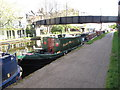 TQ2382 : Matilda-May - narrowboat on Paddington Arm, Grand Union Canal by David Hawgood