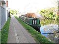 TQ2482 : Lady Jane - narrowboat on Paddington Arm, Grand Union Canal by David Hawgood