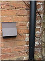 SP2280 : OS benchmark - Hampton in Arden, Marsh Cottage by Richard Law