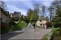 SP1106 : Bibury;  Arlington Row and cottages beyond by Michael Garlick