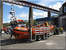 NT1378 : Recovering the Lifeboat - 4 by M J Richardson