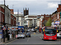 SO9198 : Victoria Street in Wolverhampton by Roger  Kidd