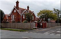 SZ3394 : Westfield Road corner house, Lymington by Jaggery