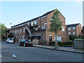 TQ3278 : Houses on the west side of Penton Place, Walworth by Stephen Craven