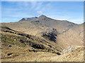 NM5533 : Ridge rising towards A' Chìoch by Trevor Littlewood