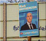 J5181 : Election Poster, Bangor by Rossographer