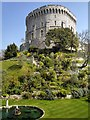 SU9677 : Windsor Castle, The Round Tower by David Dixon