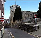 SM9515 : Tower Hill, Haverfordwest by Jaggery