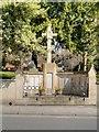 SU9676 : War Memorial outside Windsor Parish Church by David Dixon