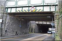 SH5771 : Low bridges, Caernarfon Rd by N Chadwick