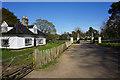 TL8261 : Park lodge and gates, Ickworth Park by Bill Boaden