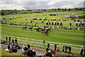 SJ4065 : May Festival at Chester Racecourse by Jeff Buck
