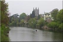 SO5139 : River Wye by Richard Webb