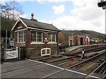 SE8191 : Levisham  Station  opened  26th  May  1836 by Martin Dawes