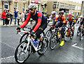 SE3406 : Sir Bradley Wiggins and his team cycle through Barnsley by Steve  Fareham
