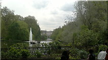 TQ2979 : View of Buckingham Palace from St. James's Park #2 by Robert Lamb