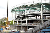 J3272 : New stands, Windsor Park, Belfast - May 2015(2) by Albert Bridge