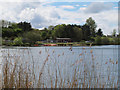 SJ8462 : View west across Astbury Mere by Stephen Craven