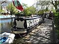 TQ2681 : Rachel - narrowboat on Paddington Arm, Grand Union Canal by David Hawgood