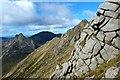 NR9942 : Stacach ridge by Raibeart MacAoidh
