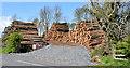 J4377 : Woodstack, Ballysallagh Forest, Craigantlet - May 2015(1) by Albert Bridge
