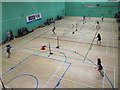 TL2008 : Badminton courts, Hertfordshire Sports Village by David Hawgood