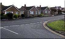 ST9273 : Cocklebury Road bungalows, Chippenham by Jaggery