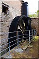 SO5864 : The waterwheel at Birchley Mill, Bockleton, Worcs by P L Chadwick