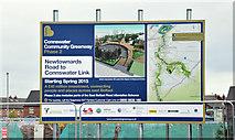 J3674 : Connswater Greenway information sign, Belfast (May 2015) by Albert Bridge
