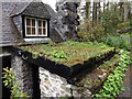 SH7557 : Roof garden at Tŷ Hyll by Richard Hoare