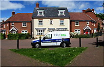 SU3521 : Pestkill van, Withy Close, Romsey by Jaggery