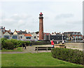 TG5303 : The old lighthouse in Gorleston by Evelyn Simak