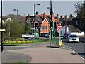 SU9874 : Old Windsor Roundabout, Albert Road by David Dixon