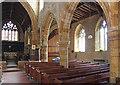 SP7054 : St Mary, Gayton - South arcade by John Salmon