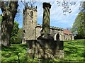 SK3499 : St Peter's Church, Tankersley by Neil Theasby