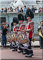 TQ2979 : Drummers in The Mall, London SW1 by Christine Matthews