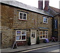 ST6316 : Sweeney Tod's Barber Shop and bicycle, Sherborne by Jaggery