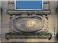 NZ2464 : Central Buildings, 7-9 Bigg Market, NE1 - date stone by Mike Quinn