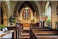 SK9480 : Interior, St Cuthbert's church, Brattleby by Julian P Guffogg