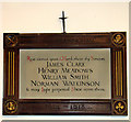 TG2702 : St Andrew's church - WW1 memorial by Evelyn Simak