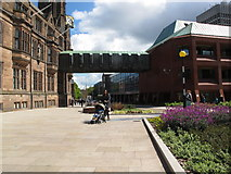 SP3378 : Bridge between the Council Buildings by Keith Williams