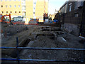 TQ3280 : Archaeology on the site of Kentish Buildings (1) by Stephen Craven