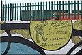 SK3389 : Street Art in Hillsborough by Dave Pickersgill