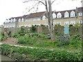 ST8259 : Houses on a street called Baileys Barn by Christine Johnstone