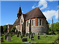 SU2527 : St Mary's, West Dean by Jaggery