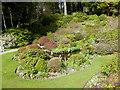 NJ1736 : Water garden, Ballindalloch Castle by Oliver Dixon