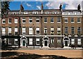 TQ2981 : Terrace, Bedford Square, London WC1 by Julian Osley
