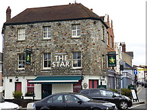 TQ1649 : Dorking:  The 'Star' by Dr Neil Clifton