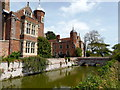 TL8647 : Moat and Bridge at Kentwell Hall by PAUL FARMER