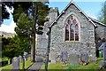 NY3205 : Grave of a historian, Chapel Stile by Jim Barton